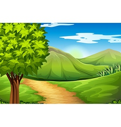 Land resources vector image vector image