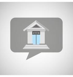 bank building design vector image