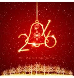 New Year Christmas Holidays Celebration Background vector image vector image