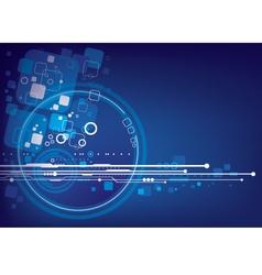 Technology background design vector image vector image