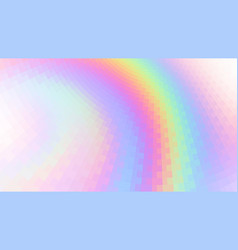 abstract holographic background vector image