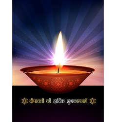 Beautiful diwali vector