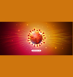 Covid19-19 coronavirus epidemic design with fallin vector