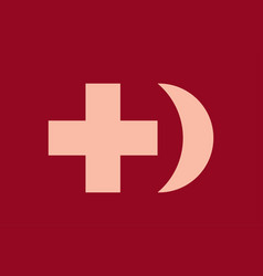 donor blood symbol vector image