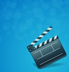 film cinema background vector image