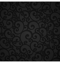 Floral Swirl Damask Seamless Pattern vector