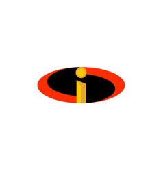 incredible logo design icon element vector image