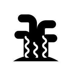 marine coral sealife icon vector image