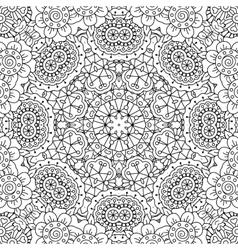Gorgeous full frame geometric design background vector image vector image