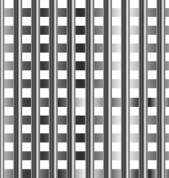 stainless steel bars background vector image