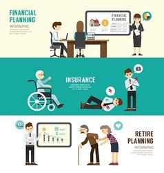 Business design planning concept people set vector