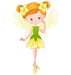 Forest Fairy vector image vector image