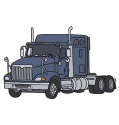 Big american truck vector