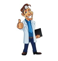 Cool Medical Doctor Cartoon vector image