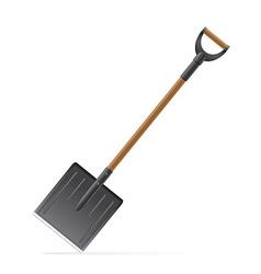 garden tool shovel 03 vector image