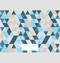 geometric abstract pattern collection triangular vector image
