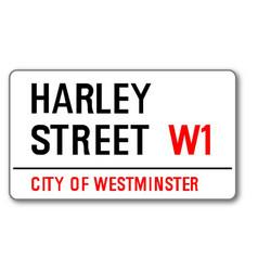 Harley street vector