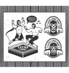 Lucha Libre Collection vector image