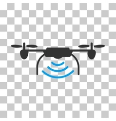 Radio Transmitter Airdrone Icon vector