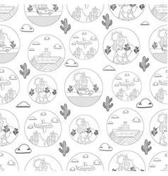 Travel pattern vector