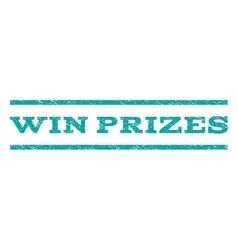 Win Prizes Watermark Stamp vector image