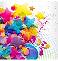abstract mixed background vector image vector image
