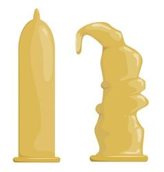Condoms EPS10 vector image vector image