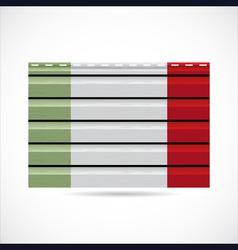 Italy siding produce company icon vector image