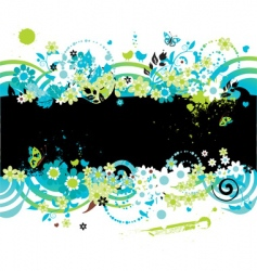 summer background for your design vector image vector image