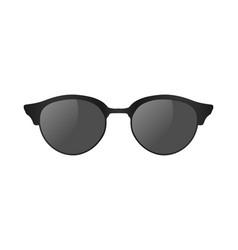 3d realistic sun glasses vector image