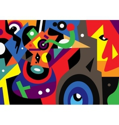 abstract fantastic vector image