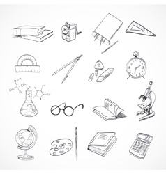 Education icon doodle vector