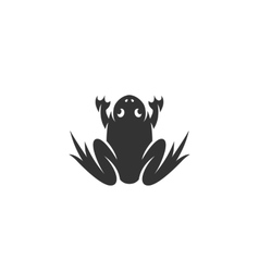 Frog icon isolated on white background vector image