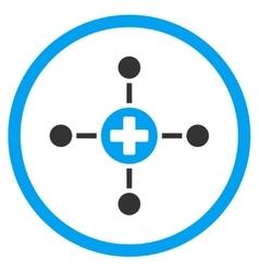 Medical Center Icon vector image