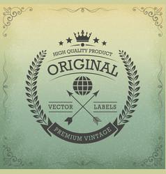 Original logo concept vector