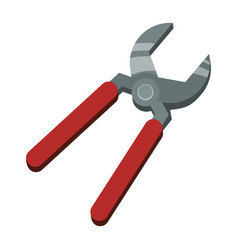 Plier construction tool equipment vector