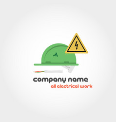Spare parts - company name vector