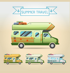 travel van vector image