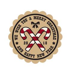 we wish you merry christmas vector image