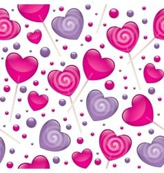 lollipops seamless pattern vector image vector image