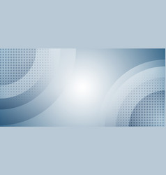 abstract light blue circles overlapping vector image