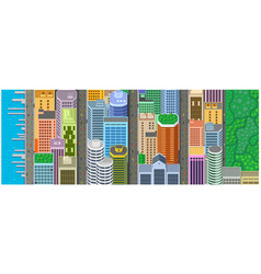 Background banner manhattan new york vector
