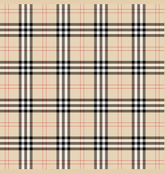 Burberry plaid scottish cage background vector