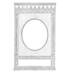 decorative border have dotted border in this vector image