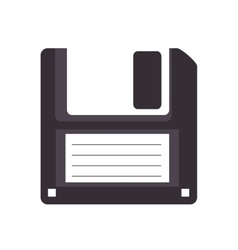 Diskette disk retro vector