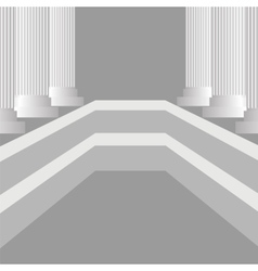 Greek Pillars vector image