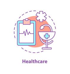 medicine concept icon vector image