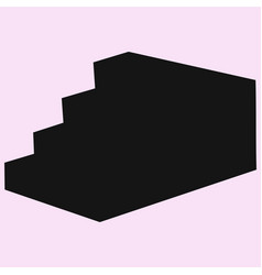 stairs vector image