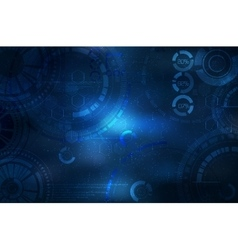 Technology background Technological elements on vector image