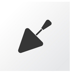 Trowel icon symbol premium quality isolated vector